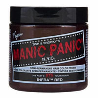 (6 Pack) MANIC PANIC Cream Formula Semi-Permanent Hair Color - Infra Red