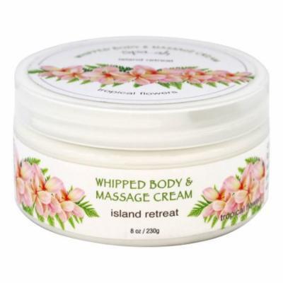 Spa...ah - Island Retreat Whipped Body & Massage Cream Tropical Flowers - 8 oz.