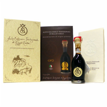 Acetum Traditional Balsamic Vinegar Di Reggio Emilia, Oro (Gold) 25 years+ DOP, 100 ml