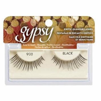 (6 Pack) GYPSY LASHES False Eyelashes - 908 Black