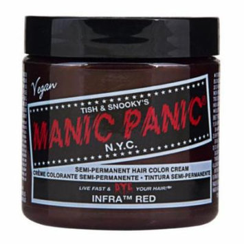 (3 Pack) MANIC PANIC Cream Formula Semi-Permanent Hair Color - Infra Red