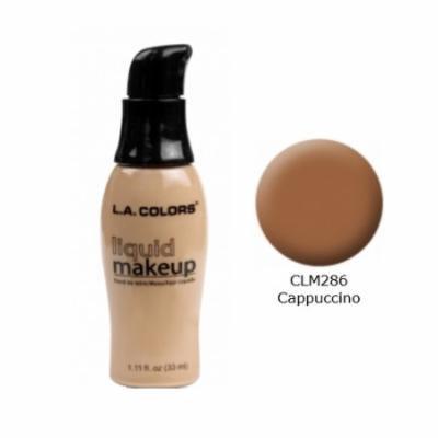 LA COLORS Liquid Makeup - Cappuccino