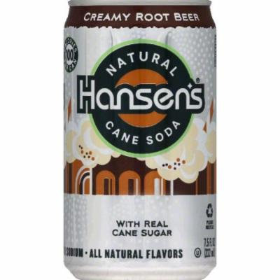Hansens Soda, Cane, Natural, Creamy Root Beer