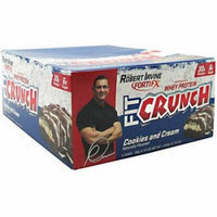 Fit Crunch Cookies and Cream Bars, 12 count