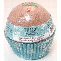 Cranberry & Pomegranate Cupcake Bath Bomb Hugo Naturals 6 oz Bar Soap