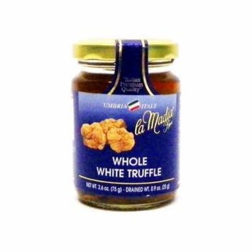 La Madia Whole White Truffles in Water - 2.6oz