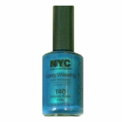 (3 Pack) NYC Long Wearing Nail Enamel - Empire State Blue