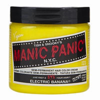 (3 Pack) MANIC PANIC Cream Formula Semi-Permanent Hair Color - Electric Banana (GLOWS)