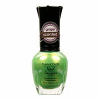 (6 Pack) KLEANCOLOR Scented Nail Lacquer - Grape Indulgence