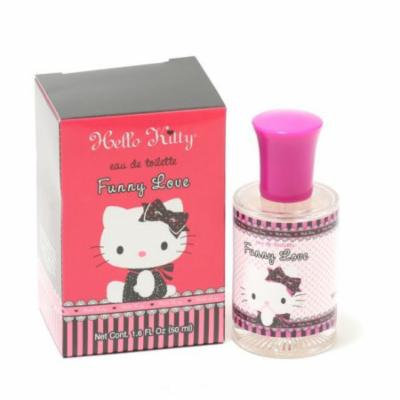 Girls Hello Kitty Funny Love EDT Spray Size: 1.6 oz