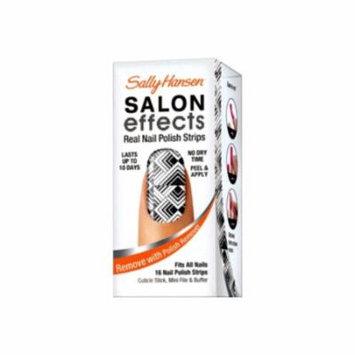 (6 Pack) SALLY HANSEN Salon Effects Real Nail Polish Strips 3 - Tri-bal it On