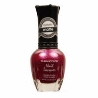 (6 Pack) KLEANCOLOR Matte Nail Lacquer - Cast a Love Spell