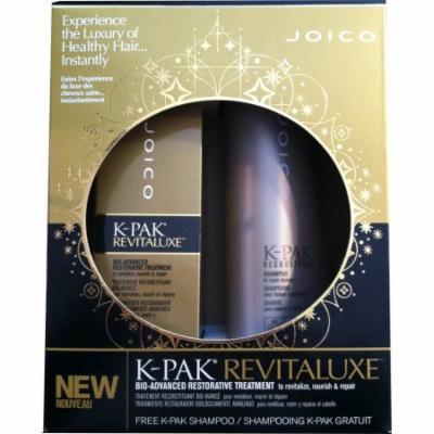 Joico K-Pak Revitaluxe Bio-Advanced Restorative Treatment, 5.1 fl. oz. w/ Free K-Pak Shampoo 10.1 fl. oz.