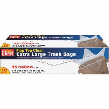 10CT 33GAL TRASH BAG 628107