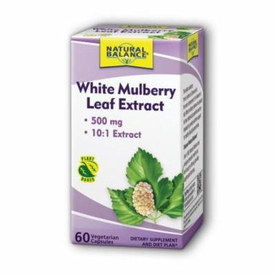 White Mulberry Leaf Extract Natural Balance 60 VCaps