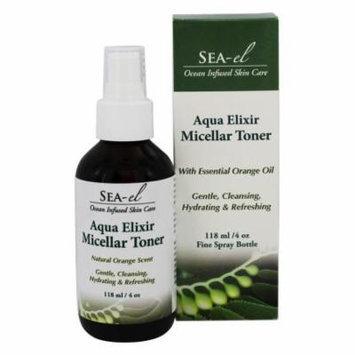 Sea-el - Aqua Elixir Micellar Toner Natural Orange - 4 oz.