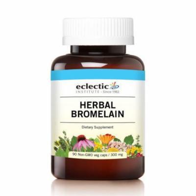 Herbal Bromelain Eclectic Institute 90 VCaps