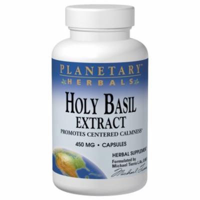 Holy Basil Extract 450mg Planetary Herbals 180 Caps