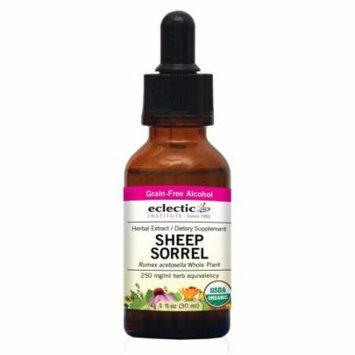 Sheep Sorrel Extract Eclectic Institute 1 oz Liquid