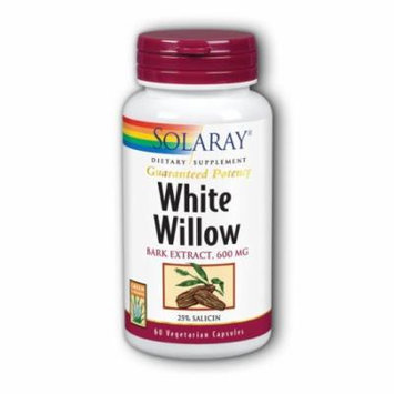 White Willow Bark Extract Solaray 60 Chewable