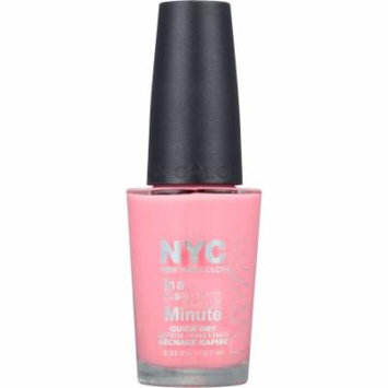 N.Y.C New York Color In a New York Color Minute Nail Polish, 263 Lafayette Pink, 0.33 fl oz