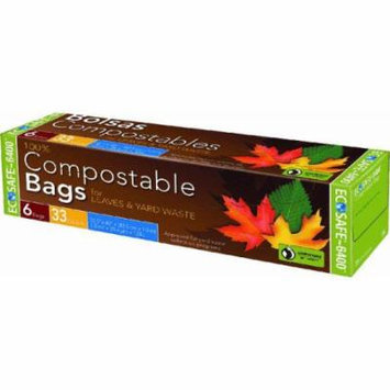 Eco Safe-6400 Compostable Lawn & Leaf Bag