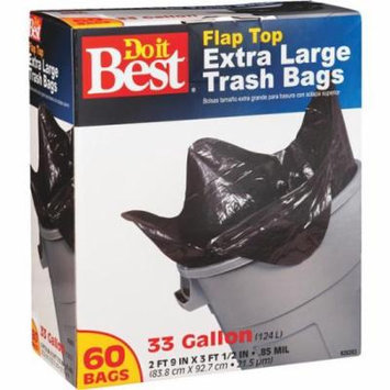 Presto Products 60ct 33 Gallon Trash Bag 628263