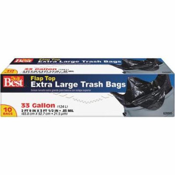 10CT 33GAL TRASH BAG 628085