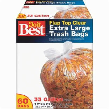 60CT 33 GAL XL TRASH BAG 647918