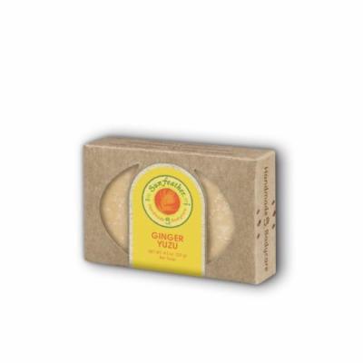 Ginger Yuzu Soap Sunfeather 4.3 oz Bar Soap