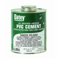 Clear All-Weather PVC Cement