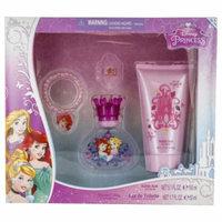 Disney Princess Set-Edt Spray 1.7 Oz & Shower Gel 5 Oz & Bracelet & Ri