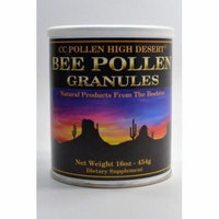Cc Pollen 0408633 High Desert Bee Pollen Granules Can - 16 oz