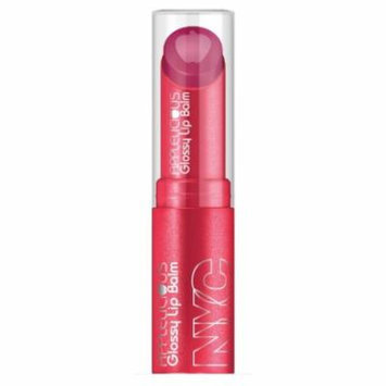 (3 Pack) NYC Applelicious Glossy Lip Balm - Apple Blossom (DC)