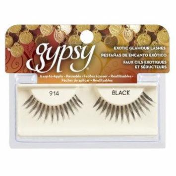 (6 Pack) GYPSY LASHES False Eyelashes - 914 Black