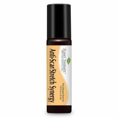 Anti-Scar and Stretch Synergy Pre-Diluted Essential Oil Roll-On 10 ml (1/3 fl oz). Ready to use! (Blend of: Lavender and Neroli)