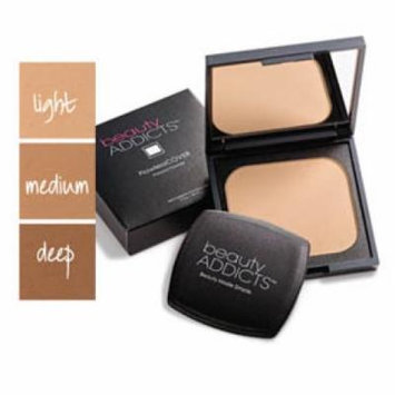 beautyADDICTS FlawlessCOVER Pressed Powder, Light.