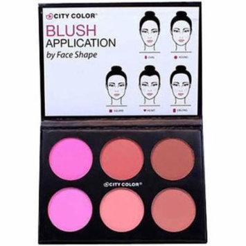 City Color Glow-Pro Blush Palette