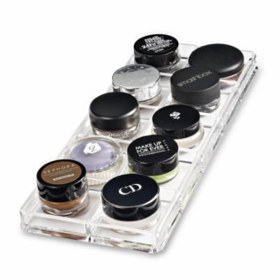 Acrylic Paint Pot / Cream Shadow Organizer & Beauty Care Holder Provides 10 Space Storage byAlegory Makeup Organizer