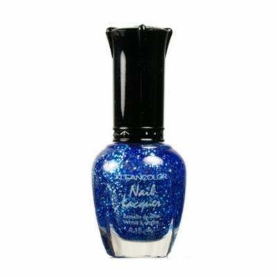 (6 Pack) KLEANCOLOR Nail Lacquer 3 - Diamond Blue