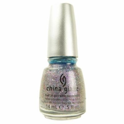 (3 Pack) CHINA GLAZE Glitter Nail Lacquer with Nail Hardner - Prism (DC)