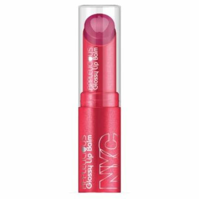 (6 Pack) NYC Applelicious Glossy Lip Balm - Apple Blossom (DC)