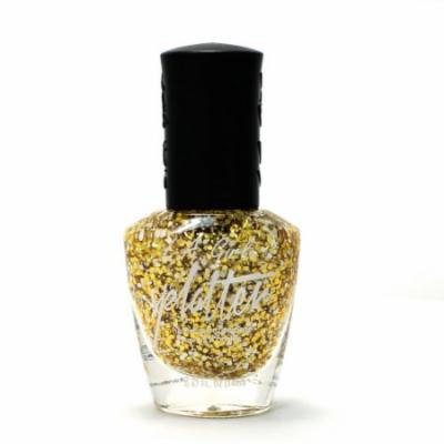 (6 Pack) LA GIRL Splatter Nail Polish - Sparkle
