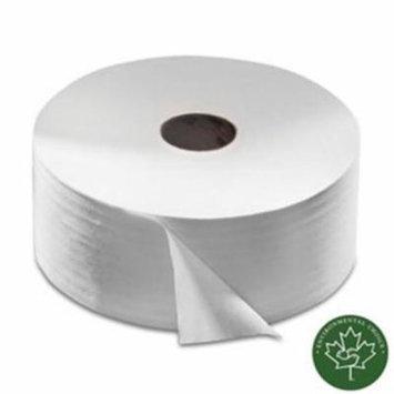 Tork 12021502 Bath Tissue Jumbo Roll, Pack of 6