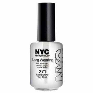 (6 Pack) NYC Long Wearing Nail Enamel - Extra Shiny Top Coat
