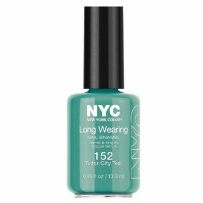 (3 Pack) NYC Long Wearing Nail Enamel - Tudor City Teal