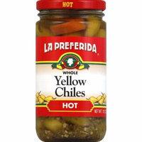 La Preferida Yellow Chiles, Whole, Hot