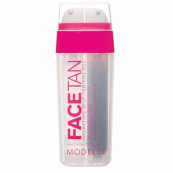 ModelCo Face Tan Hydrating Self-Tanning Gel, 2 x 0.52 fl. oz.