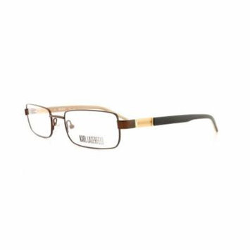 KARL LAGERFELD Eyeglasses KL185 506 Shiny Brown 52MM
