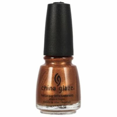 CHINA GLAZE Nail Lacquer with Nail Hardner - In Awe Of Amber